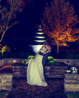 Real Winter Wedding with ceremony at Immaculate Conception
