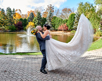 Fall Onsite Wedding with First Look