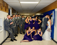 bridal-party, Bride, cherryville-photography, funny-wedding-pictures, Groom, high-school-sweethearts, nj-wedding-photographer, randolph-high-school