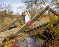 Fall Wedding, Outdoor Ceremony