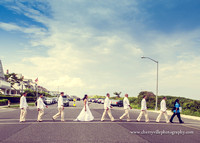 Beatles bride and groom, nj wedding photographer